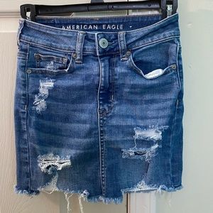 American Eagle super stretch jean skirt